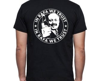 Black T Shirt. Pocket & Full Back print