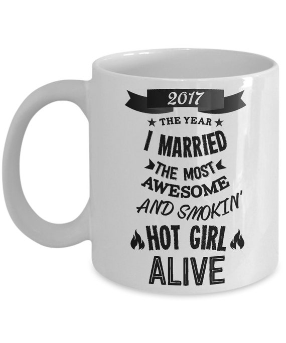 Funny Wedding Gifts For Groom: Wedding Gifts For Groom 2017 The Year I Married Mug Funny