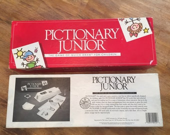 Vintage Pictionary Junior - The game of quick draw for children. No.122