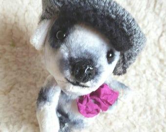Gilbert Pup OOAK Artist Teddy Puppy Dog Bear