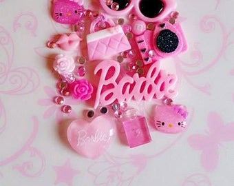Barbie Pink DIY Decoden Set