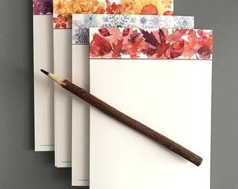 Seasonal Notepad Set