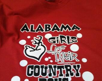 ALABAMA GIRLS T-SHIRT