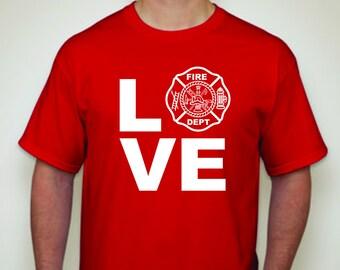 Firefighter Wife shirt-Firefighter Girlfriend shirt-firefighter Fiance shirt