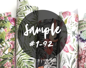 Sample order || Self- adhesive Removable Wallpaper || Wall Murals by Coloray