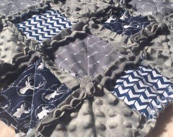 Deer rag quilt