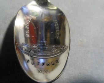 Antique Sterling Spoon- New York Souvenir