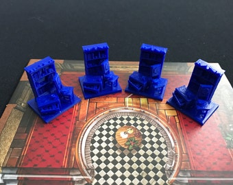 Mansions of Madness 2nd Edition Furniture assorted types.
