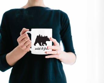 Wild and Free, Mug