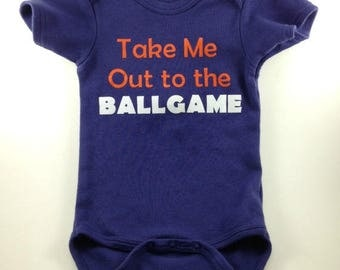 Baseball Baby Clothes - Baseball Baby - Baby Boy Clothes - Sports Baby Clothes -Baseball Clothes-Baseball Infant-Take Me Out to the Ballgame