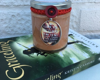 Graceling Moment Inspired Candle - Katsa and Po Campfire Discovery