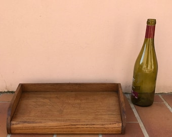 ANTIQUE VINTAGE FRENCH bread or chopping cutting board wood 1804171