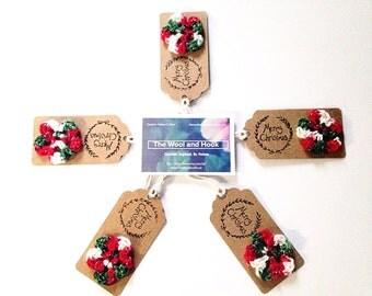 Christmas gift tags - Handmade packaging