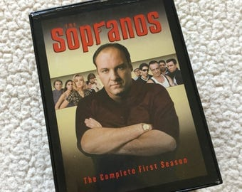 The Sopranos The Complete First Season 5 Volumes VHS
