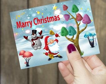 Christmas card * marry christmas