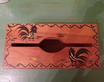 Woodpecker Woodware tissue holder