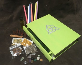 Custom Book Box - Witch Box - Book Drawer - Witch's Starter Kit