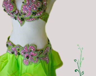 Belly dance costume by IOLANNA