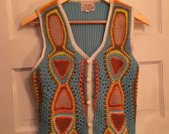 Vintage 1970s Woodstock Vest