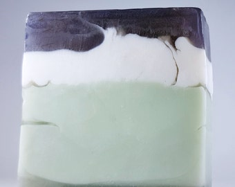 Bringing Sexy Back / MAN SOAP / SHAVING / Cologne scented / Cool water / Phthalate Free / Gluten Free / Vegan / Organic oils