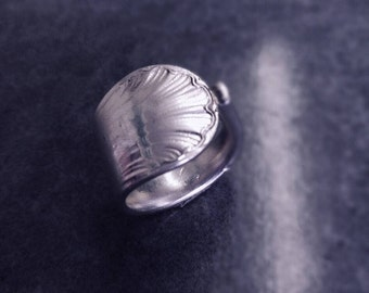 seashell ring size 7 1/4