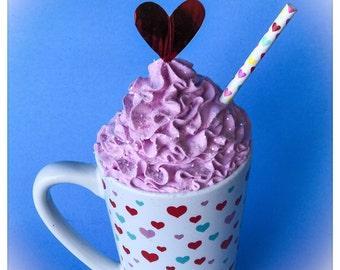 Sweet Valentines Fake Mug Treat