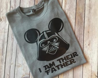 Darth Vader Shirt, Disney Shirt for Dad, Dad Disney Shirt, Mens' Disney Shirt, Mens' Star Wars Shirt, Star Wars Shirt, Father's Day