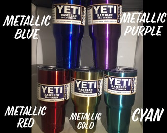 Color 30 ounce Yeti - Laser Etched