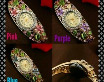Fabulous Women's Fashion Bangle Wrist Watch
