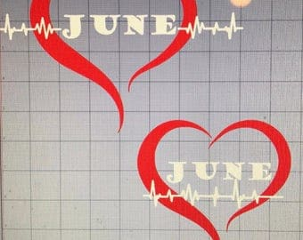 Heart Decal...  *CHOOSE ONE*