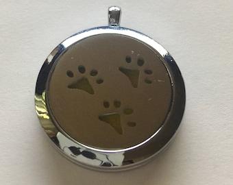 Silver Diffuser Locket
