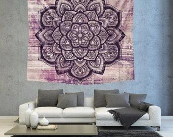 L phant mandala mur tapisserie tapisserie tenture murale for Decoration murale mandala