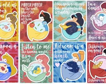 Princess-a-palooza Full Box Stickers