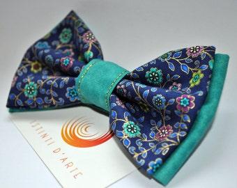 Handmade bow tie model Flowers
