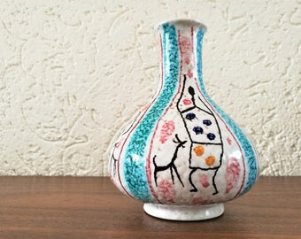 Italy Vase 'card figures'