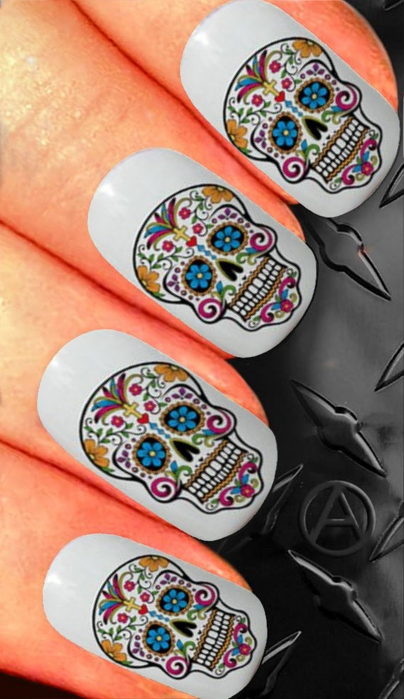 Nail Decals x 20 nail art set waterslide nail decals ...
