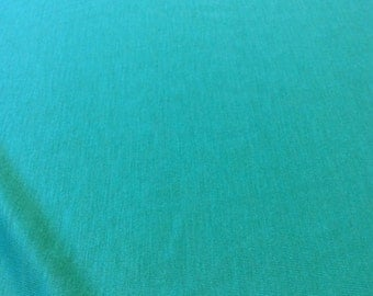 SALE 20% OFF -- Lightweight Stretch Knit fabric in Teal - Rayon Lycra blend