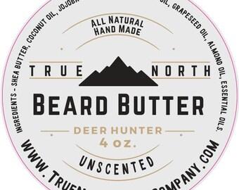 true north beard butter 4oz black ops beard oil. Black Bedroom Furniture Sets. Home Design Ideas