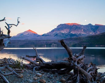 Glacier National Park photograph print