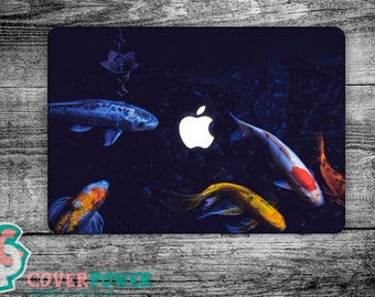 Fish MacBook Decal Marine Life Macbook Pro Sticker Macbook Skin Macbook Pro Vinyl Cover Macbook Air Stickers Any Laptop Skins Decal MB238