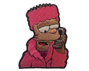 Black Bart Simpson Killa Cam'ron Iron / Sew on Patch