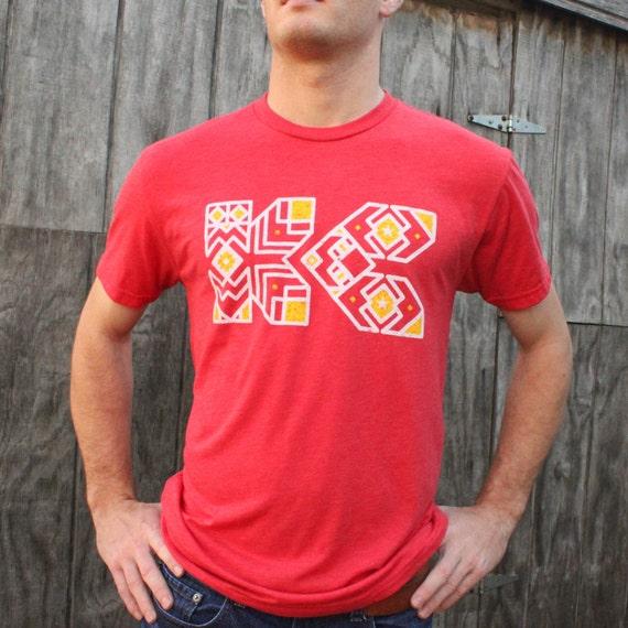 Kc chiefs shirt kansas city chiefs shirt men women for Kansas city chiefs tee shirts