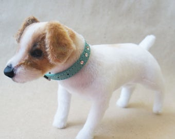Soft toy dog breed Jack Russell Terrier