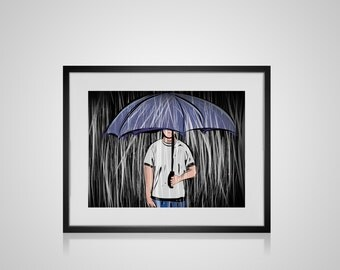 Rainy Day - Art Print