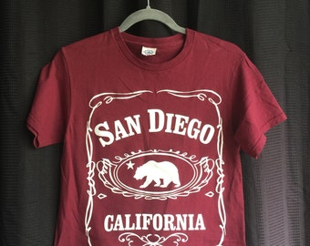 San Diego CA Bear Crop Top (SM)