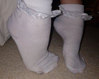 Frilly Sock Fetish 103