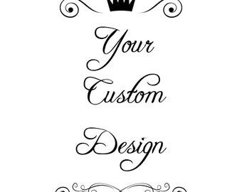 Custom Decal Custom Sticker Custom Laptop Sticker Custom Laptop Decal