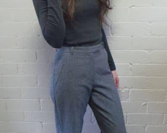 Wide Leg Classic Grey Pant