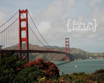 Golden Gate Bridge - San Francisco - California Print - Photography - Multiple Sizes