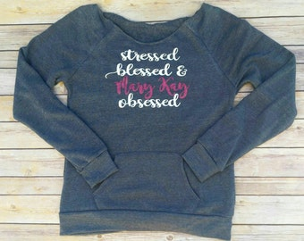 Custom Mary Kay off the shoulder Sweatshirt